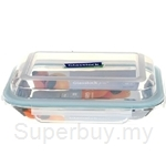 Glasslock 350ml Rectangle Food Container - MPRB-035