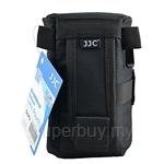 JJC DLP3 Weather-Resistant Nylon Deluxe Pouch Lens Case for DSLR Lens (160mm) - 11200037