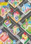 地板大貼紙:熱鬧的城市