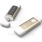 Adam Elements iKlips 64GB Gold - ADRAD64GKLPGD