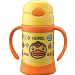 Thermos 250ml B.Duck Sippy Cup with Handle - FHI-250BD