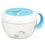 OXO TOT 235ml Aqua Flippy Snack Cup with Travel Cover - 6114000