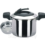 Thermos Thermocooker 6L Lifestyle Low Pressure Cooker with Steamer - LP22-6L
