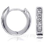Kelvin Gems Premium Loop Earrings
