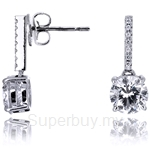 Kelvin Gems Premium Pettie Drop Earrings
