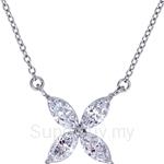 Kelvin Gems Premium Victorian Pendant Necklace