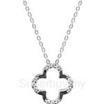 Kelvin Gems Premium Flower Pendant Necklace