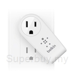 Belkin Boost Up 2-Port Swivel Charger + Outlet - F8M102sa
