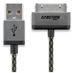 Cabstone Metal 30-pin Sync and Charging Cable 1m - 43840