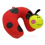 Arnold Palmer Animals Travel Pillow Ladybug Shape - E553-RD