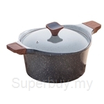Chefology Cookware 24cm Casserole (4.28L) with Lid - CF-24C-ODM