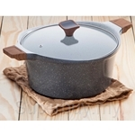 Chefology Cookware 28cm Casserole (6.5L) with Lid - CF-28C-ORG