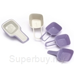 Chefology Swiss 4Pc Nesting Measuring Cups with Handle - CF-HB4421CK-T
