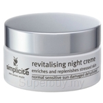 Simplicite Revitalising Night Cream (55 gm)