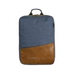 Nifteen Dual Compartment Canvas Backpack