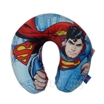 SUPERMAN U-Neck Travel Cushion (Superman Image Blue)