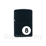 Zippo Black Matte Classic Lighter - 28432