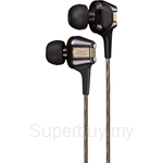 JVC Inner-Ear Headphone with High-Speed Twin Driver System - HA-FXT208