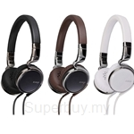 JVC Esnsy Series On-Ear Headphone with Remote & Mic - HA-SR75