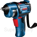 Bosch GSR 3.6 V-LI BitDrive Professional Cordless Screwdriver (with Built-in 1.5 Ah Battery & 1 Micro USB Charger)