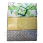 Bumble Bee 100% Cotton 3-Receiving Blankets Beige Dots - BLK0040