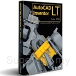 AutoDesk AutoCAD Inventor LT Suite 2017 Commercial New Single-user ELD Annual Subscription with Advanced Support - 596I1-WW8695-T548