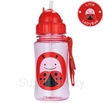 Skip Hop Ladybug Zoo Straw Bottle - SH252310