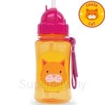 Skip Hop Cat Zoo Straw Bottle - SH252317