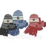 Odegard Sets Of Kids Winter Hats, Scarf, Gloves - KSC016