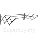 MHT RRWM 3 Feet Stainless Steel Retractable Wall Cloth Hanger