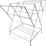 MHT PLTS Stainless Steel Foldable Cloth Hanger