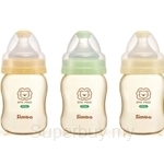 SIMBA PPSU Wide Neck Calabash Feeding Bottle Round Hole (200ml) - 6186