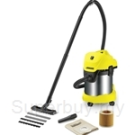 Karcher Wet and Dry Vacuum Cleaner 17 Liter 1400W - WD-3-Premium