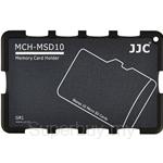 JJC Memory Card Holder Fits 10x Micro SD Cards - MCH-MSD10GR