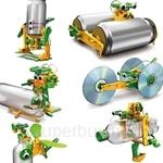 Kids Station 6 in 1 Educational Solar Robotic Recycler Kit