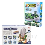 Kids Station 6 in 1 Educational Solar Robotic Recycler Kit + 7 in 1 Changeable Solar Equipment Combo
