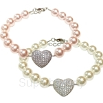 Kelvin Gems Adore 2 Swarovski Pearl Bracelet Crafted By Angie