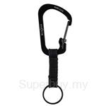 Nite Ize SlideLock Key Ring #3 - Black