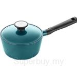 Corningware Retroflam 18cm Sauce Pan with Glass Lid
