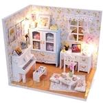 Pocohouze Hemiola's Room DIY Miniature Dollhouse - M011