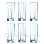 Luminarc Gobelet FH32 Octime 6pcs Glass - 12184
