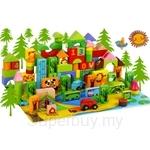 GeNz Kids 106 Jungle Adventures Animals Stamps and Blocks - 2131