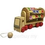 GeNz Kids Wooden Alphabets Pull-along Truck - 8305