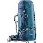 Deuter Aircontact 75 + 10 Trekking Backpack Arctic-Navy - 3320716-3329
