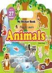 My Sticker Book:Animals (手提貼紙書英文版:動物)