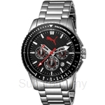 [ANNIVERSARY] Puma Racer Metal Silver Stainless Steel Men Watch - PU102311001