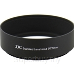 JJC Metal Screw-in Standard Lens Hood 72mm - LN-72S