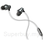 i.Tech Hybird Driver Hi-Res Audio ProStereo L2 Headphone - Silver