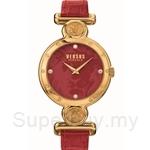Versus Sunnyridge VESOL030015 Red Strap Ladies Watch