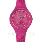 Versus Fire Island VESOQ030015 Pink Dial Pink Strap Ladies Watch